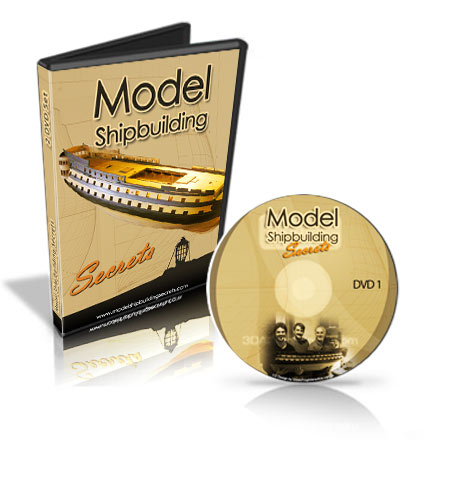 Model Ship Building Secrets DVD