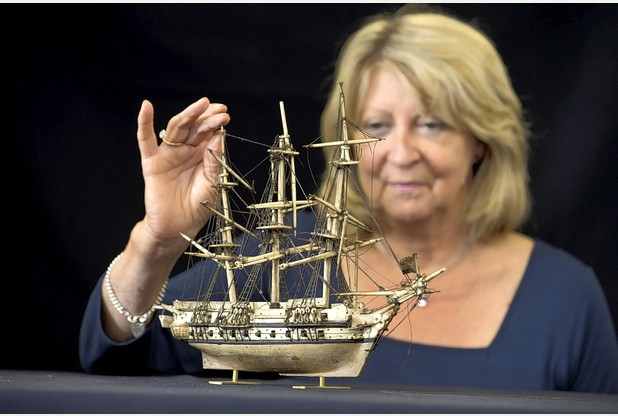 Model ship found in attic given £5k price tag