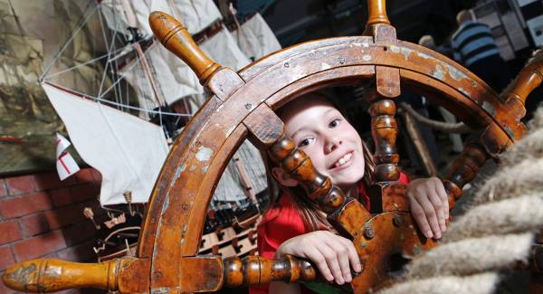 Model ships sail in for new exhibition