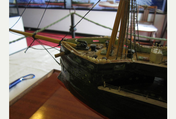 Model boat dating back more than 100 years rediscovered at Arlington Court